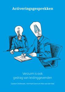 boek cover blauw activeringsgesprekken verzuim is ook gedrag van leidinggevenden